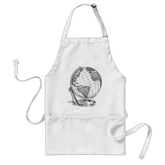 World Globe Standard Apron