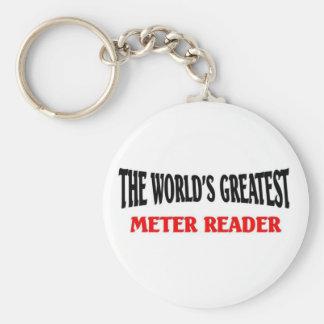 World greatest Meter Reader Keychain