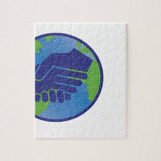 World Handshake Puzzle