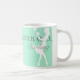 World in her hands- Literally, Darling mug