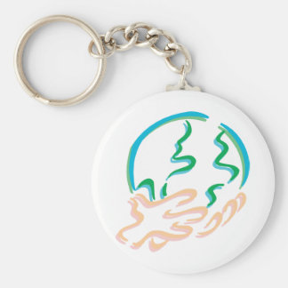 World In Your Hands Key Chain
