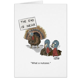 World is ending greeting card from Crowden Satz