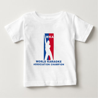 World Karaoke Association Champion Baby T-Shirt