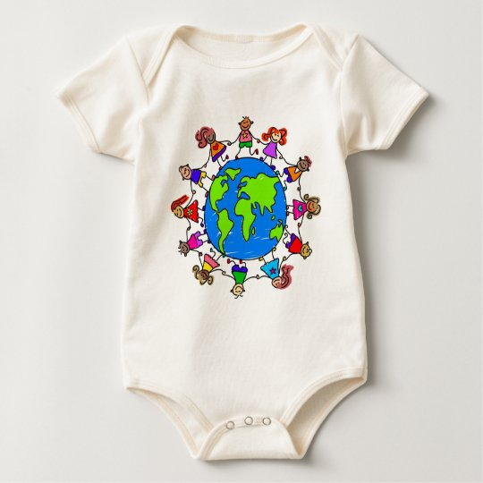 World Kids Baby Bodysuit