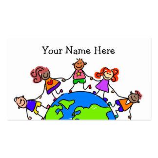 World Kids Business Card