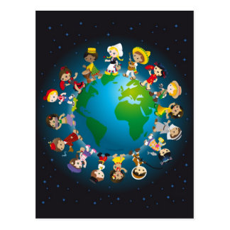 World kidz postcard