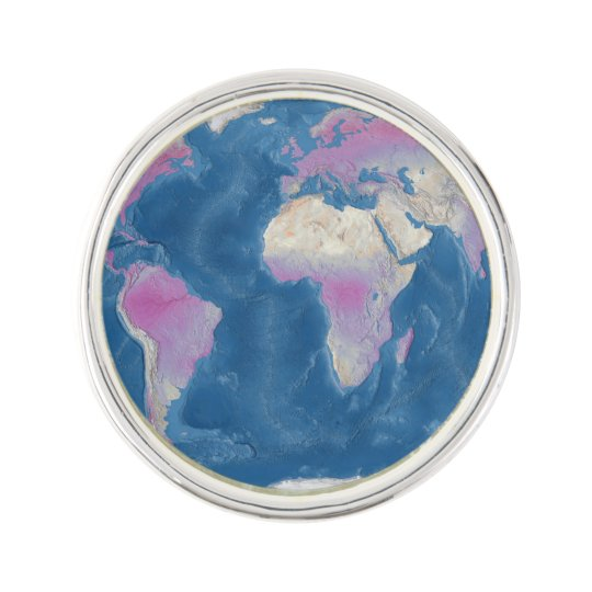 World Lapel Pin