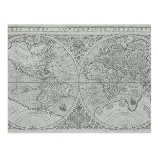 World Map 10 Postcard
