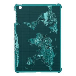 world map 11 case for the iPad mini