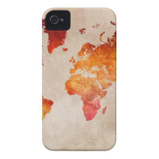 world map 13 Case-Mate iPhone 4 cases