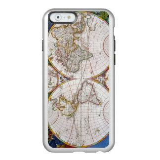 WORLD MAP, 17th CENTURY Incipio Feather® Shine iPhone 6 Case