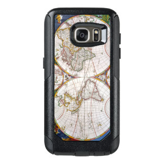 WORLD MAP, 17th CENTURY OtterBox Samsung Galaxy S7 Case
