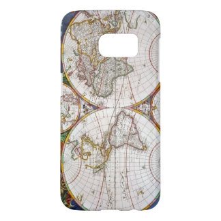 WORLD MAP, 17th CENTURY Samsung Galaxy S7 Case