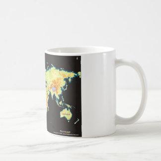 world map-2 coffee mug