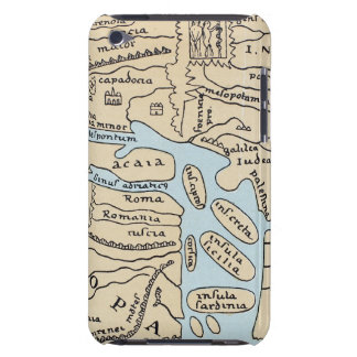 WORLD MAP 2ND CENTURY BARELY THERE iPod COVERS