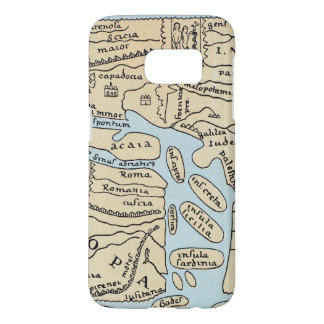 WORLD MAP 2ND CENTURY SAMSUNG GALAXY S7 CASE