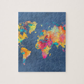 world map 8 puzzles
