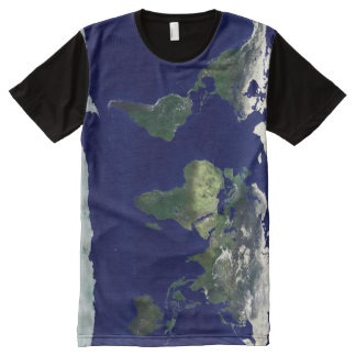 world map All-Over-Print T-Shirt