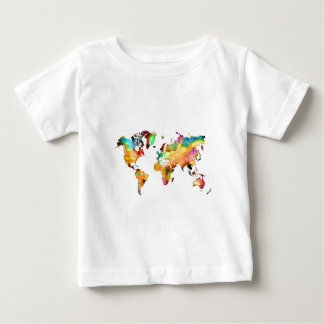world map baby T-Shirt