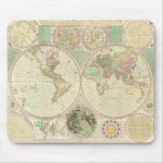 World Map by Carington Bowles (circa 1780) Mouse Pad