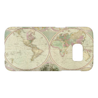 World Map by Carington Bowles (circa 1780) Samsung Galaxy S7 Case
