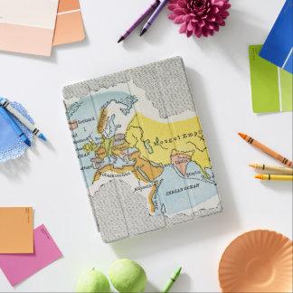WORLD MAP, c1300. iPad Cover