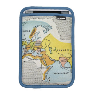 WORLD MAP, c1300. iPad Mini Sleeve