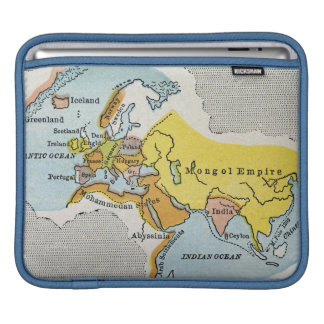 WORLD MAP, c1300. iPad Sleeve