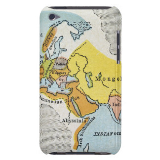 WORLD MAP, c1300. iPod Touch Case