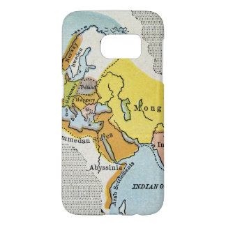 WORLD MAP, c1300. Samsung Galaxy S7 Case