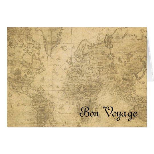 World Map Card