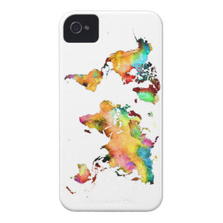 world map Case-Mate iPhone 4 case