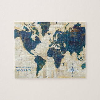 World Map Collage 6 Puzzle