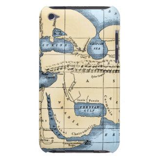 WORLD MAP: ERATOSTHENES iPod Case-Mate CASES