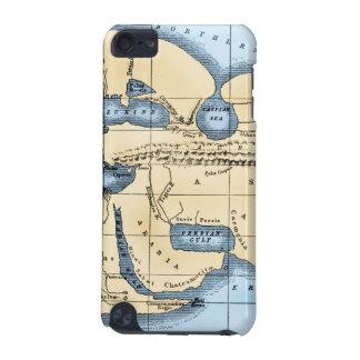 WORLD MAP: ERATOSTHENES iPod TOUCH (5TH GENERATION) CASE