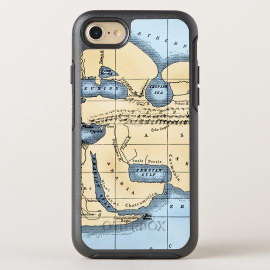 WORLD MAP: ERATOSTHENES OtterBox SYMMETRY iPhone 7 CASE