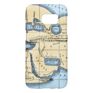 WORLD MAP: ERATOSTHENES SAMSUNG GALAXY S7 CASE