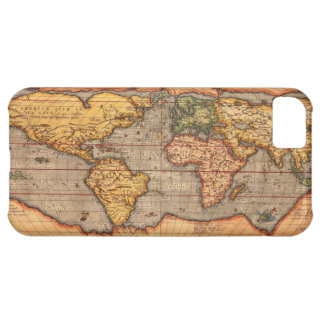 World map from 1601 cover for iPhone 5C