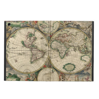 World Map from 1689 Cover For iPad Air