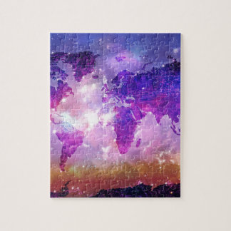 world map galaxy 1 puzzle