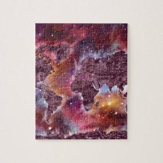 world map galaxy 5 puzzle