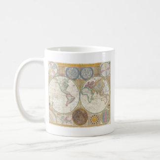 World Map Gifts Coffee Mug