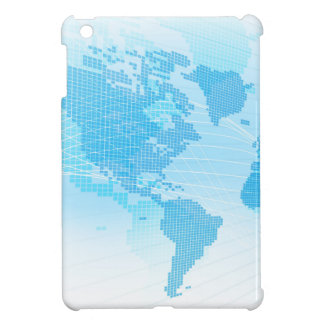 World Map Global Earth Abstract Background iPad Mini Cover