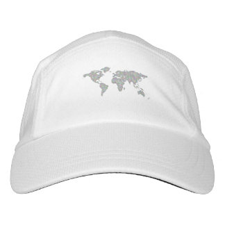 World map hat