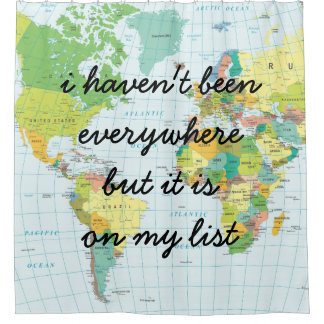 World Map - I haven't been everywhere...