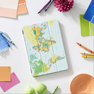 World Map iPad Air Cover