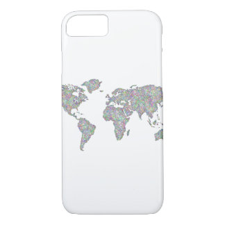 World map iPhone 8/7 case