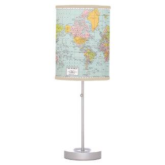 World Map Lamp