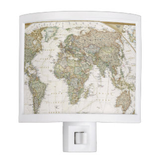 World Map Night Light