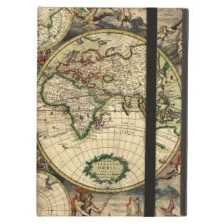 World Map of 1689 Gifts Case For iPad Air